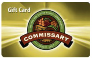 Commissary Gift Card