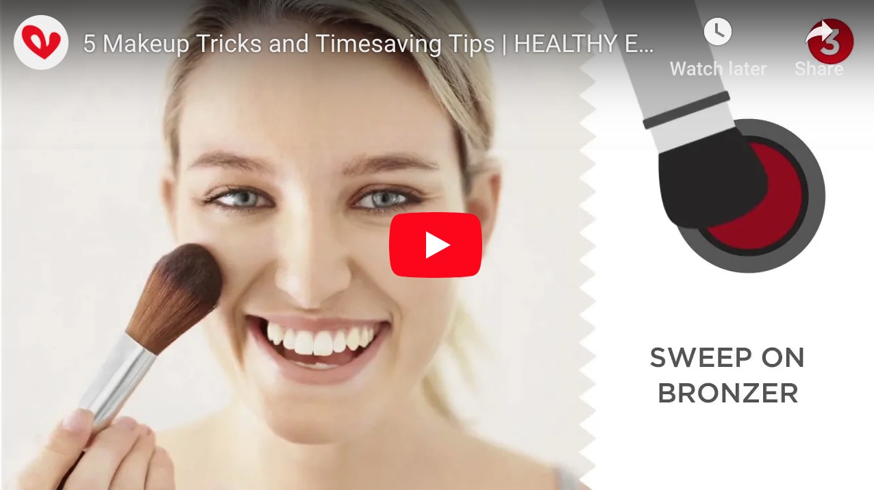 5 Makeup Tricks and Timesaving Tips | HEALTHY ESSENTIALS®