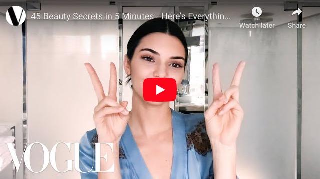 45 Beauty Secrets in 5 Minutes